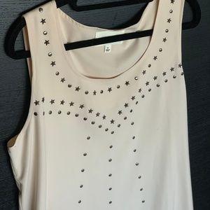Studded Stars Short Dress